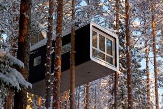 Treehotel in Svezia: dormire in una casa sull\'albero in ...