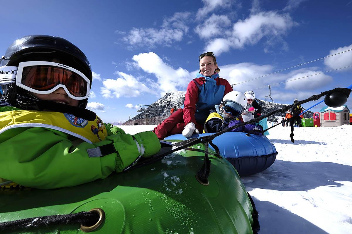 trentino-fiemme-Ski Kindergarten Pampeago Ski Center Latemar ph orlerimages
