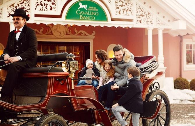 Family hotel in Alto Adige, Cavallino Bianco Family Spa Grand Hotel, inverno
