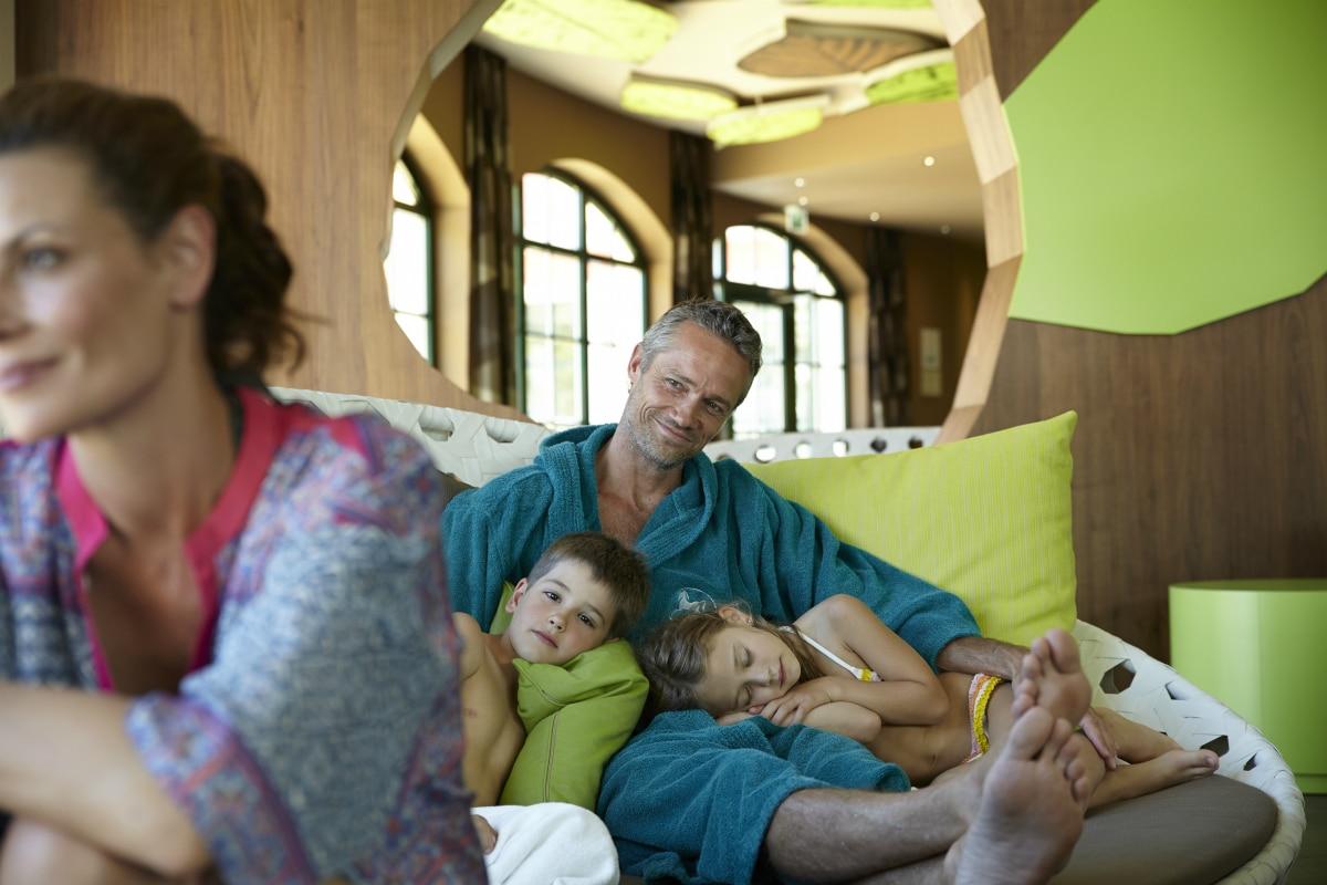 Family hotel in Alto Adige, Cavallino Bianco Family Spa Grand Hotel, relax
