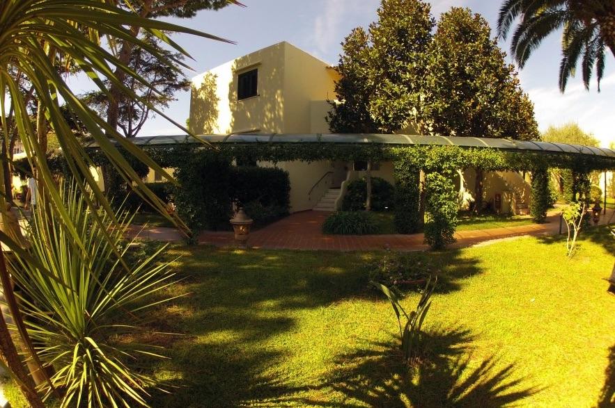 Hotel per bambini a Ischia, Hotel Michelangelo, il verde