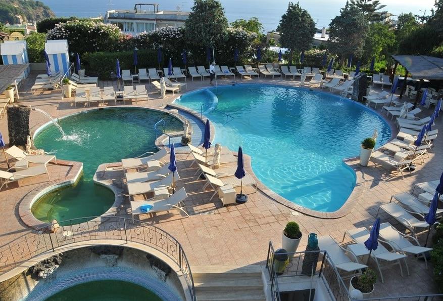 Hotel per bambini a Ischia, Hotel Michelangelo, piscine