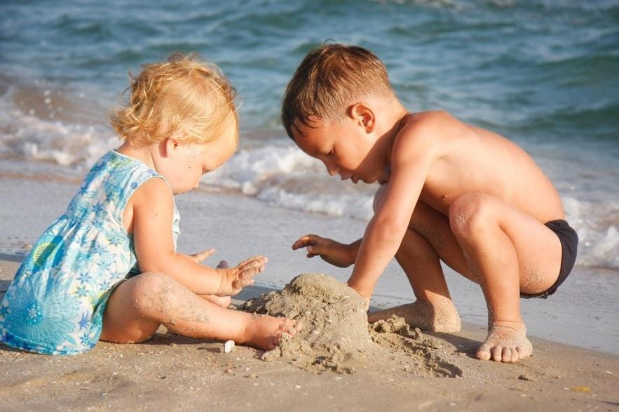 Hotel per bambini a Ischia, Hotel Michelangelo, spiaggia per bambini