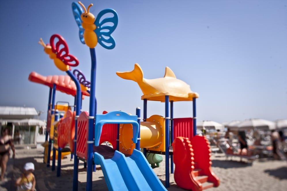 Hotel Majestic Milano Marittima giochi in spiaggia
