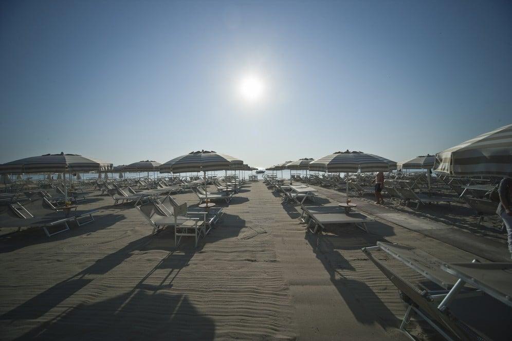 Hotel Majestic Milano Marittima spiaggia