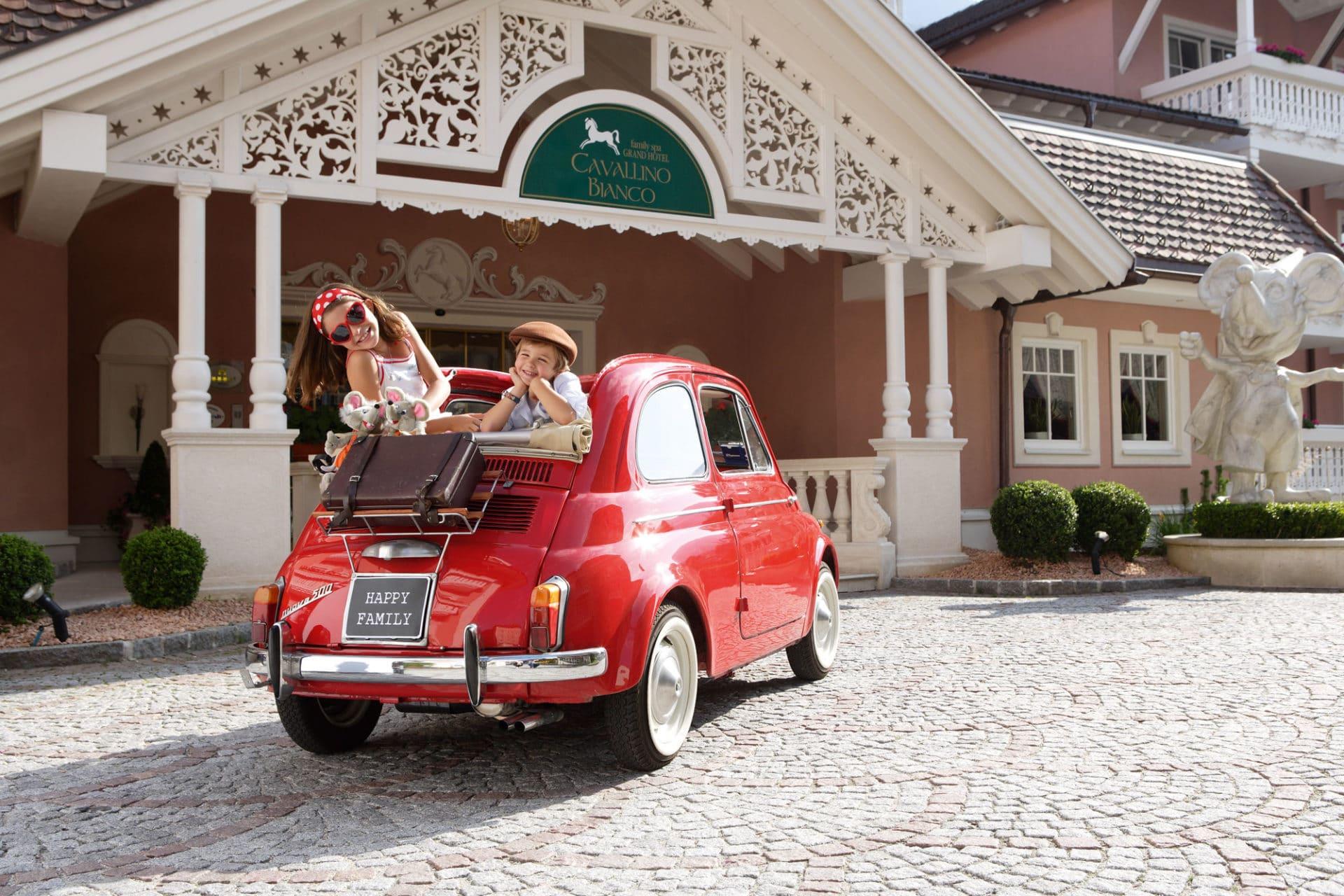 Family hotel in Alto Adige, Cavallino Bianco Family Spa Grand Hotel, estate