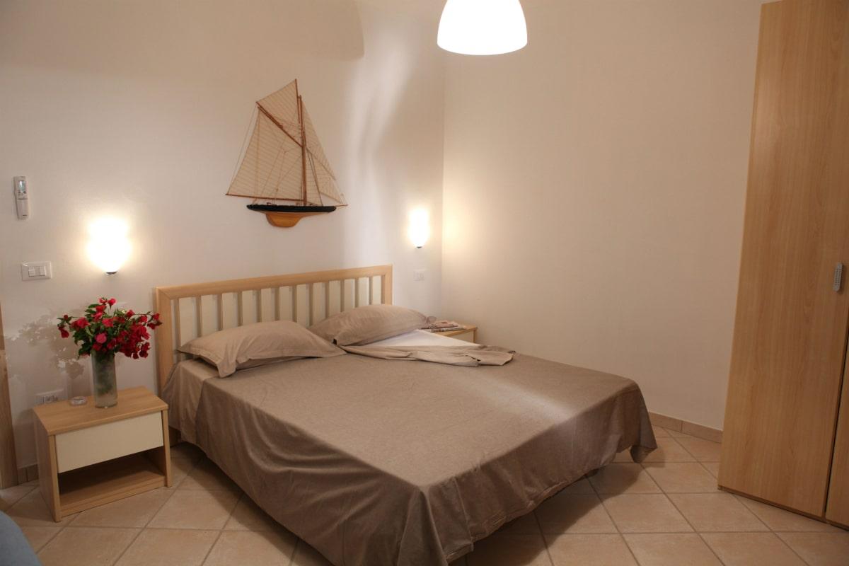 Residence per famiglie nel salento, Residence Solar, camera da letto bilocale
