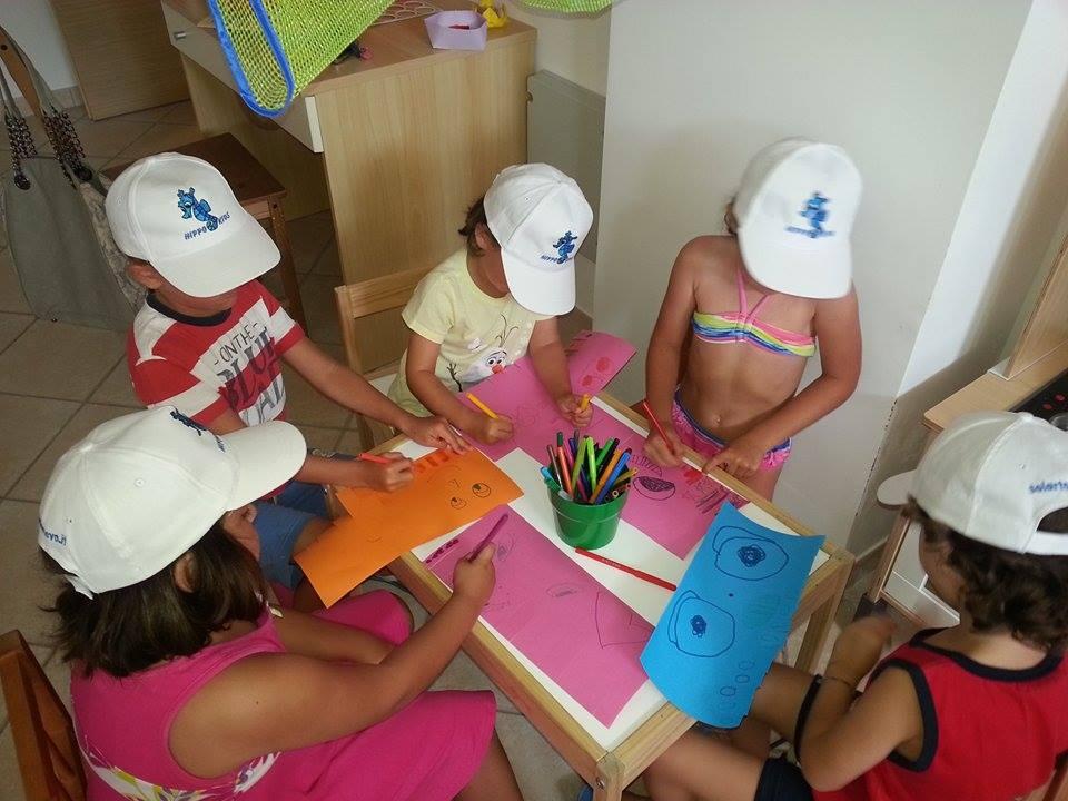 Residence per famiglie nel salento, Residence Solar, hippo kids