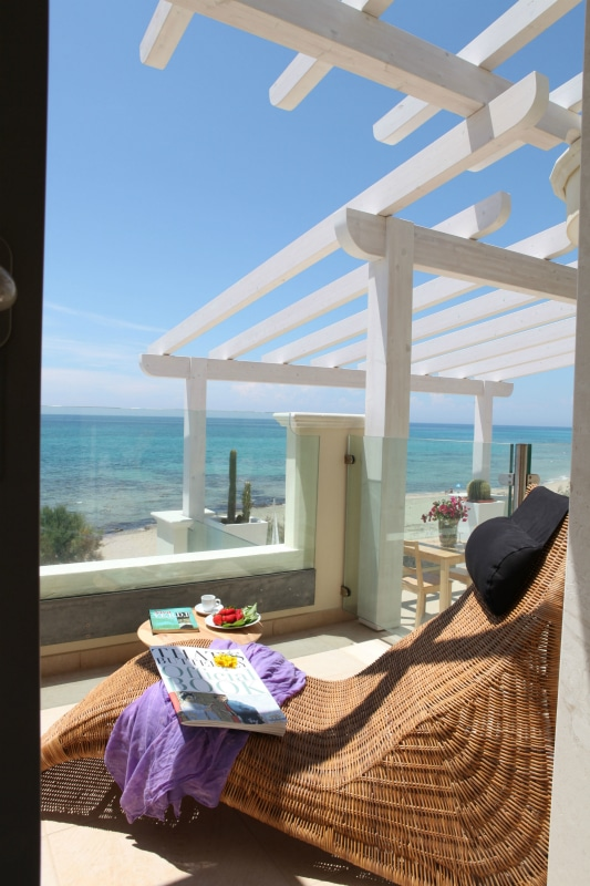 Residence per famiglie nel salento, Residence Solar, relax in terrazza