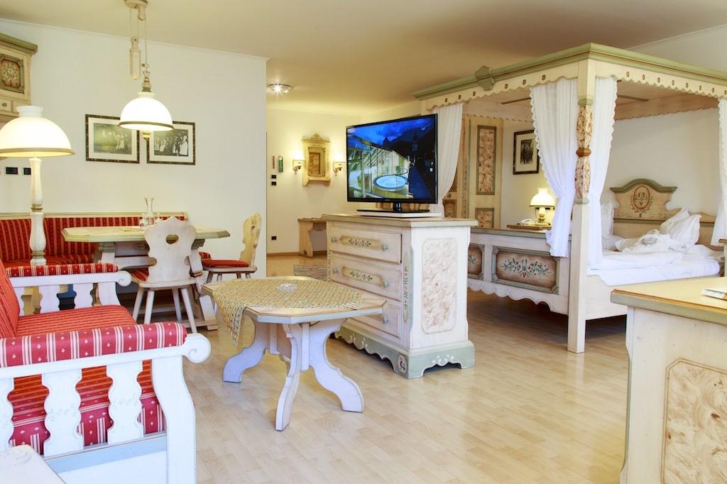 family hotel in val pusteria. Hotel Cavallino Bianco, camera famiglia