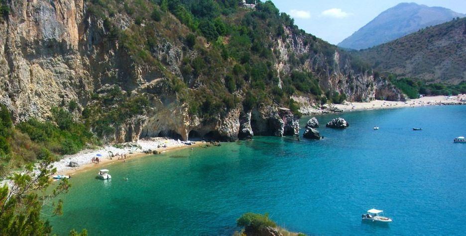 villaggi sul mare nel Cilento, Resort Baia del silenzio, baia