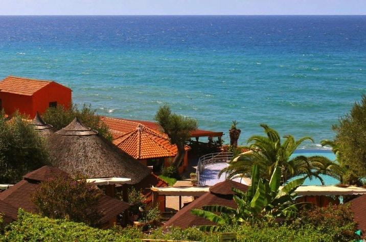 villaggi sul mare nel Cilento, Resort Baia del silenzio, panoramica