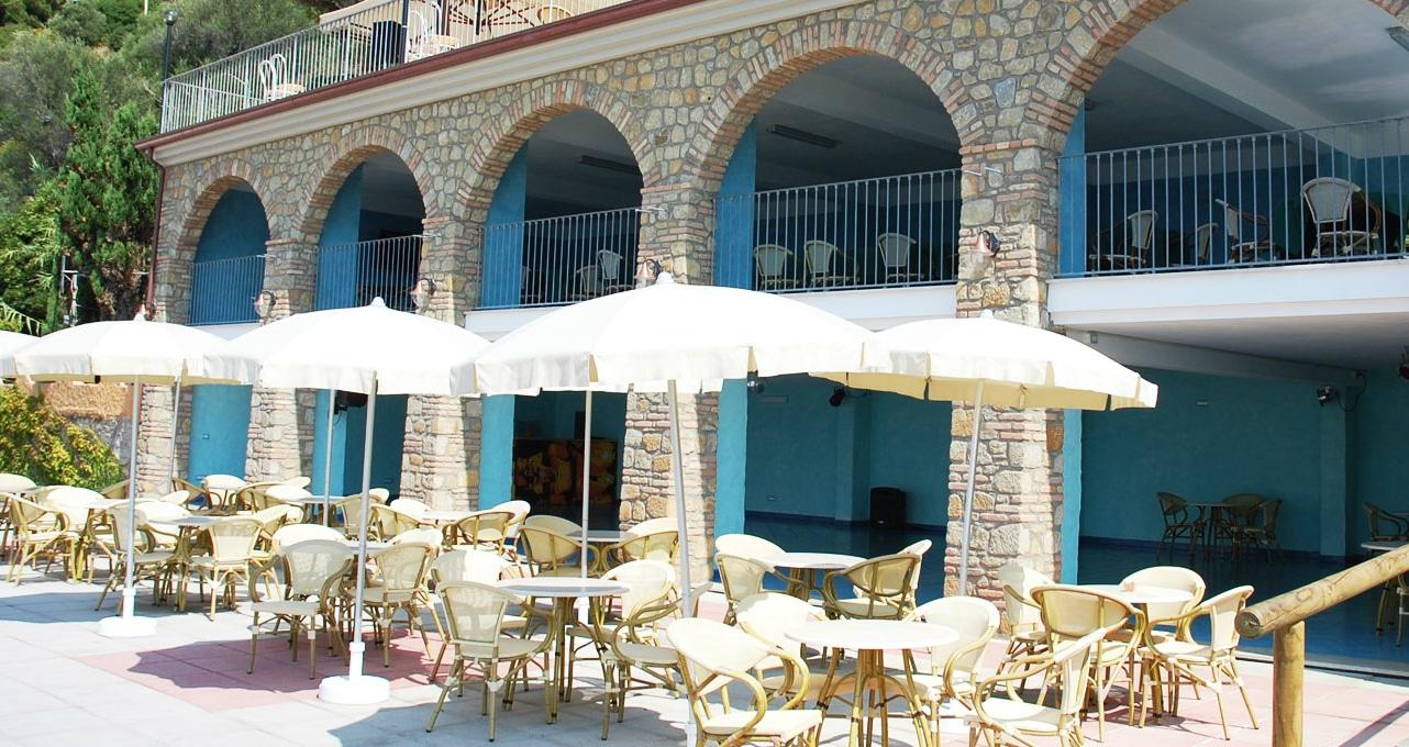 villaggi sul mare nel Cilento, Resort Baia del silenzio, bar