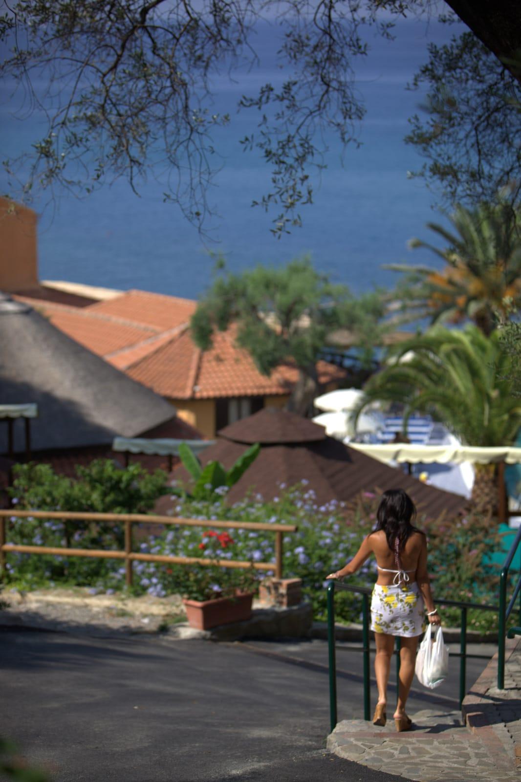 villaggi sul mare nel Cilento, Resort Baia del silenzio