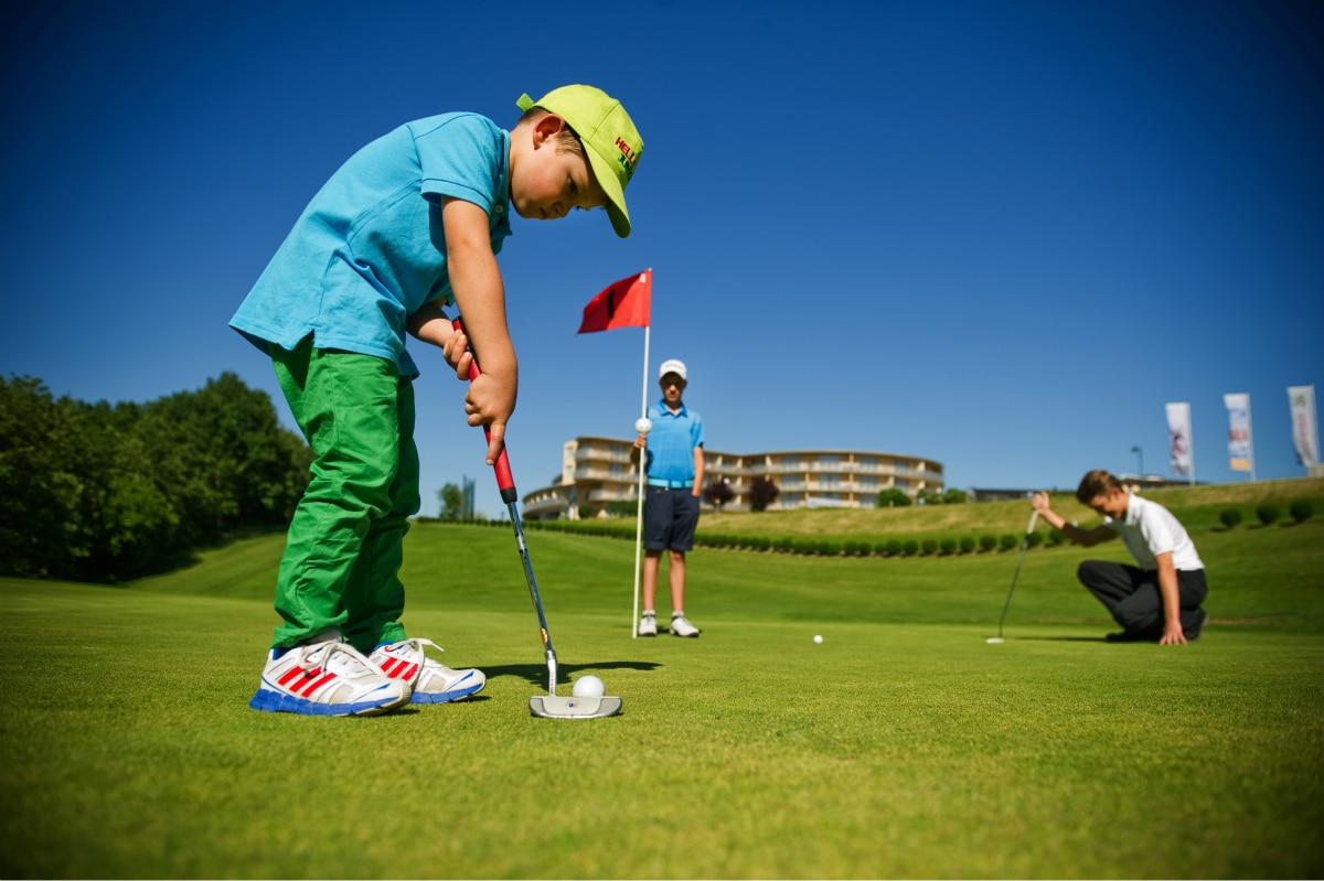 Hotel termale in Austria, Allegria Resort, golf per bambini