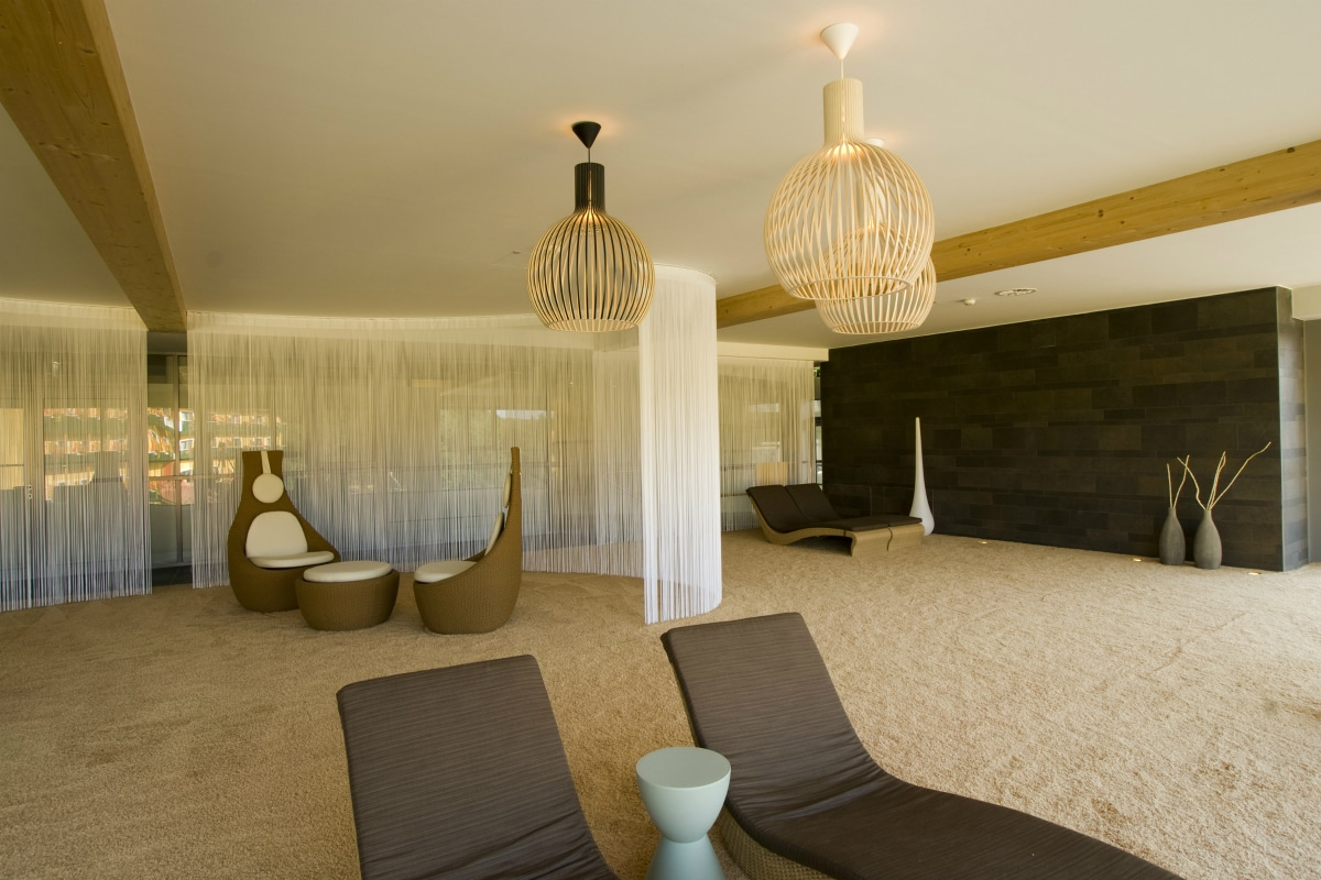 Hotel termale in Austria, Allegria Resort, whisper room
