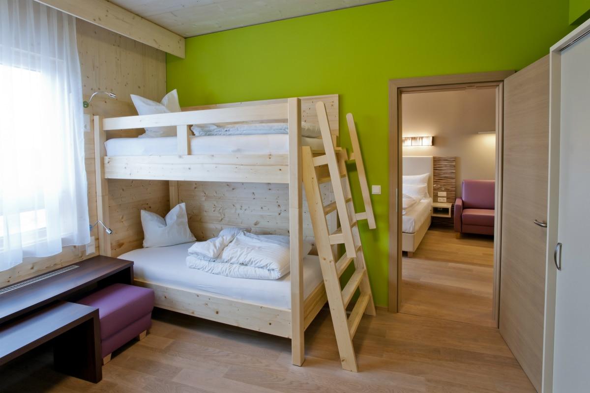 Hotel termale in Austria, Allegria Resort, family room