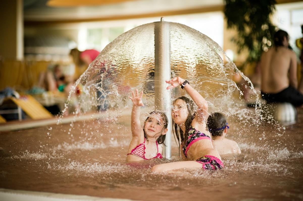 Hotel termale in Austria, Allegria Resort, area divertimento in acqua