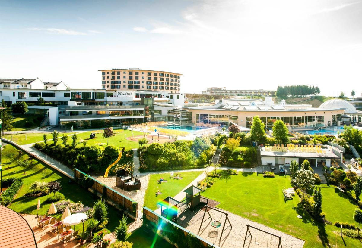 Hotel termale in Austria, Allegria Resort, panoramica