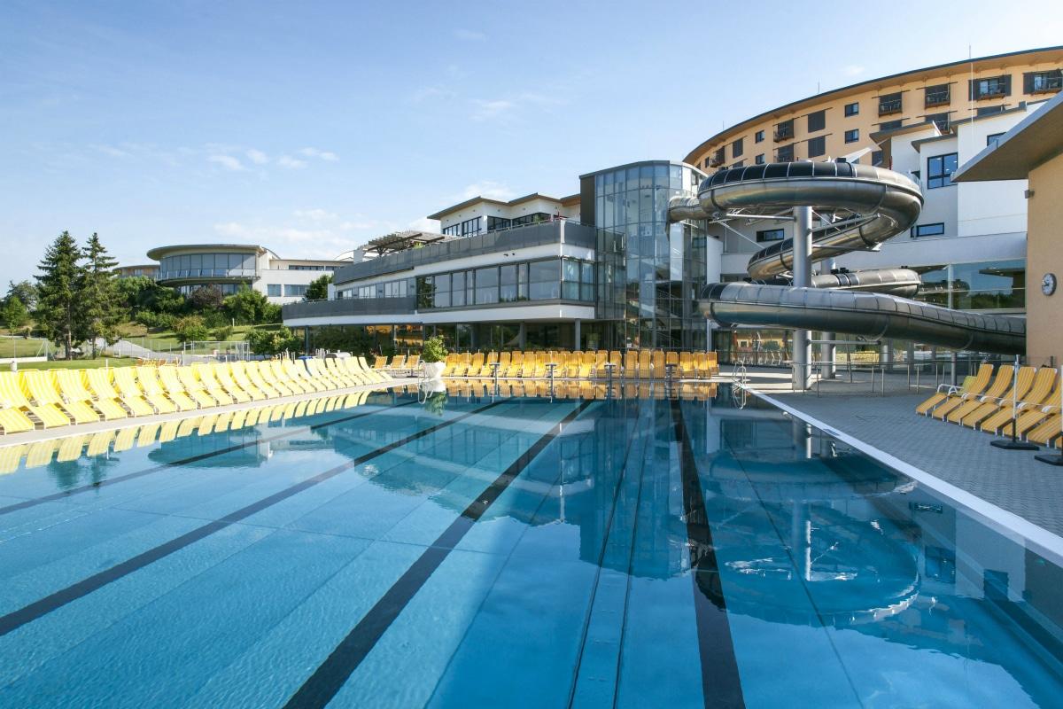 Hotel termale in Austria, Allegria Resort, piscine