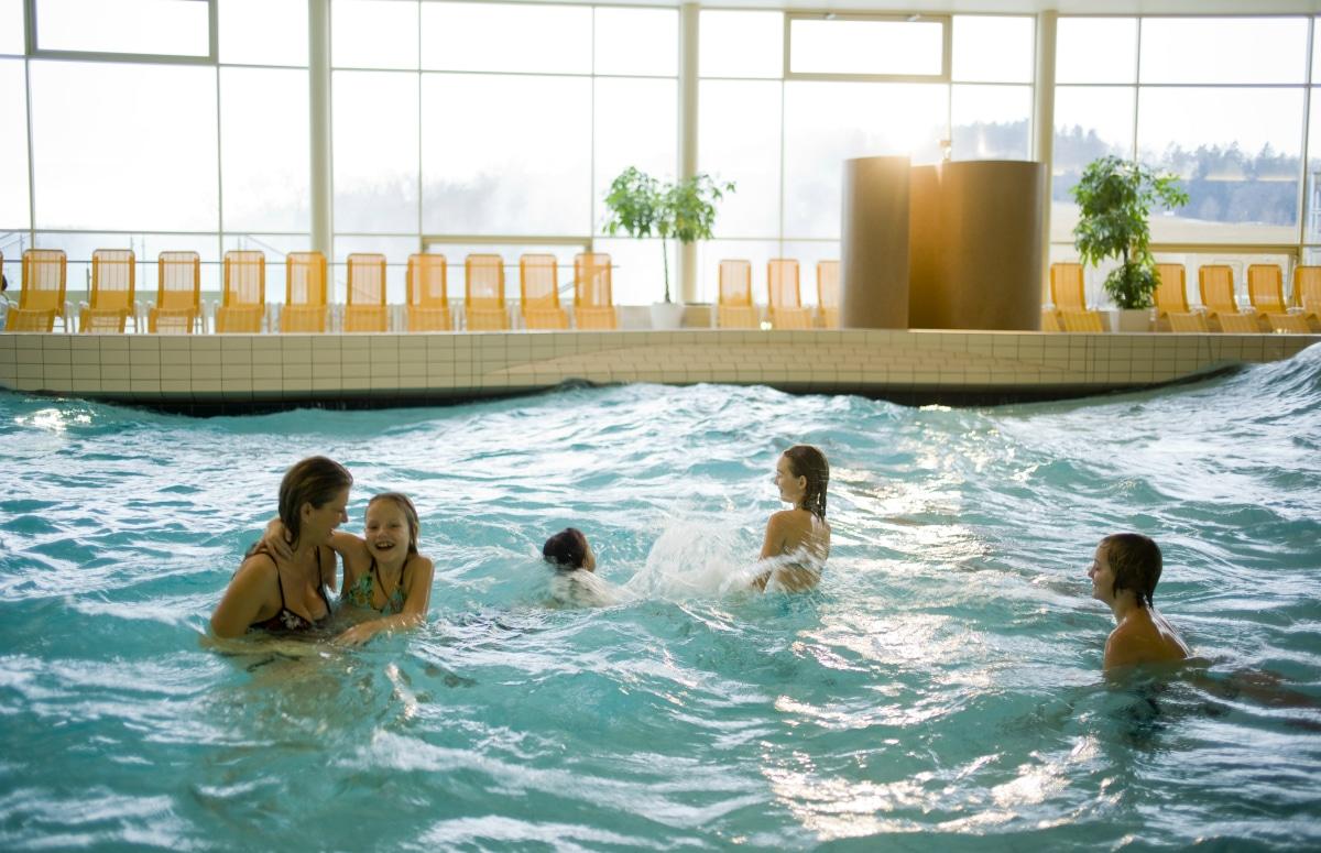 Hotel termale in Austria, Allegria Resort, piscine per tutta la famiglia