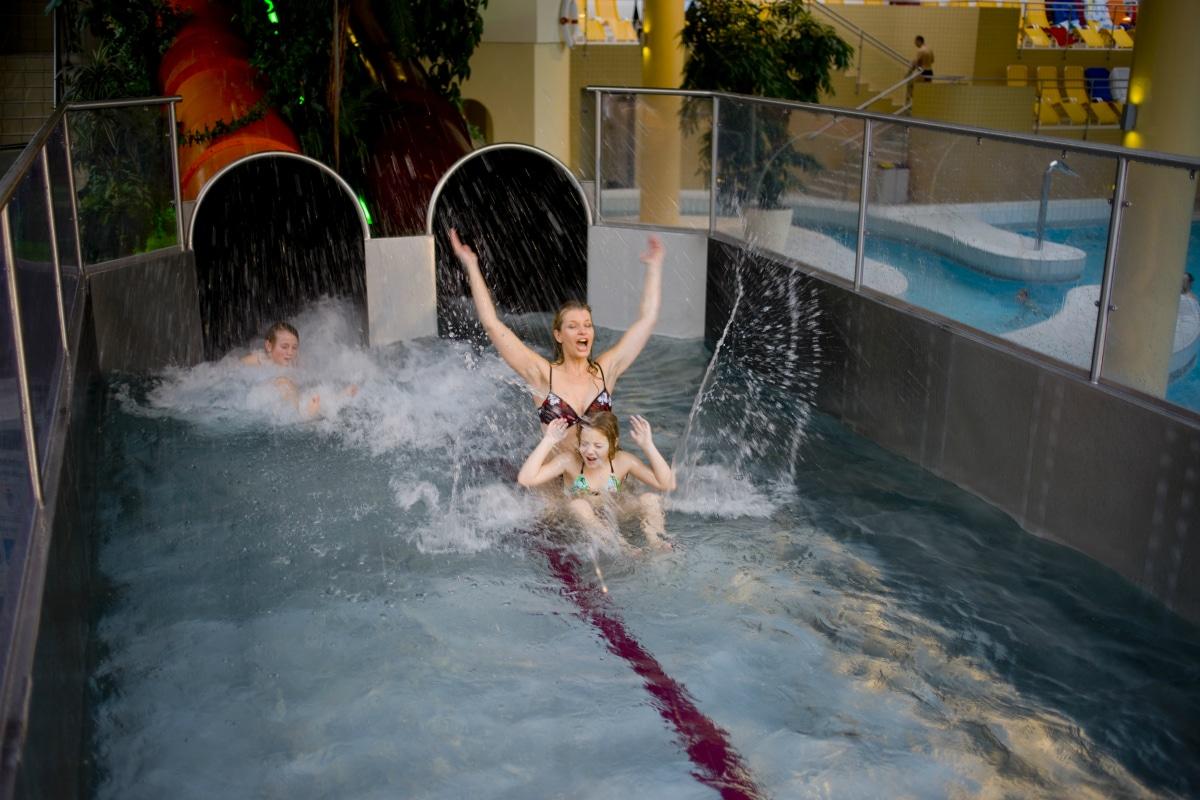 Hotel termale in Austria, Allegria Resort, scivoli