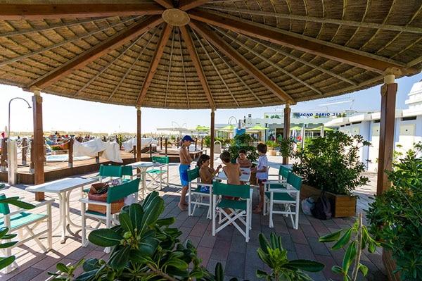 Hotel a Milano Marittima per famiglie, Beach Hotel Apollo in spiaggia