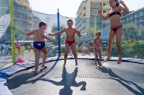Hotel a Milano Marittima per famiglie, Beach Hotel Apollo, giochi