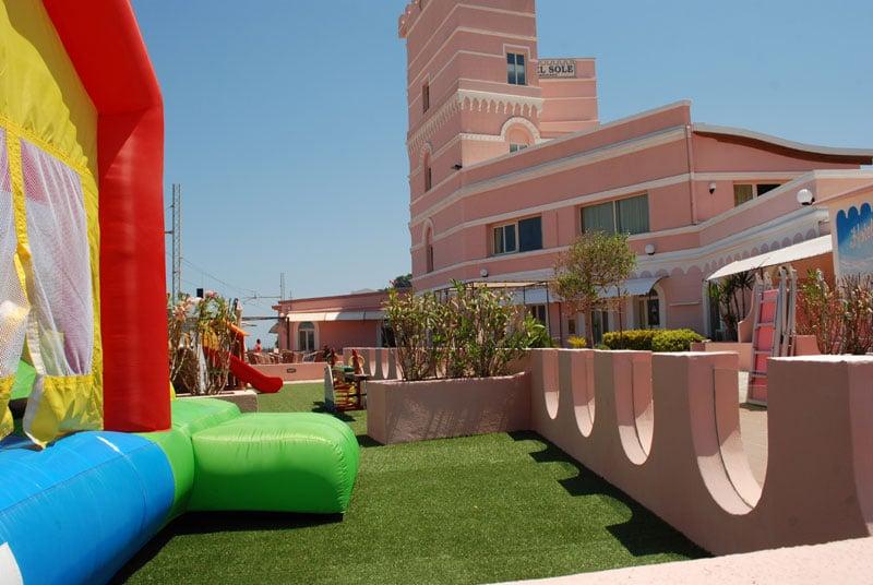 family hotel gargano, Family Hotel Sole, parco giochi