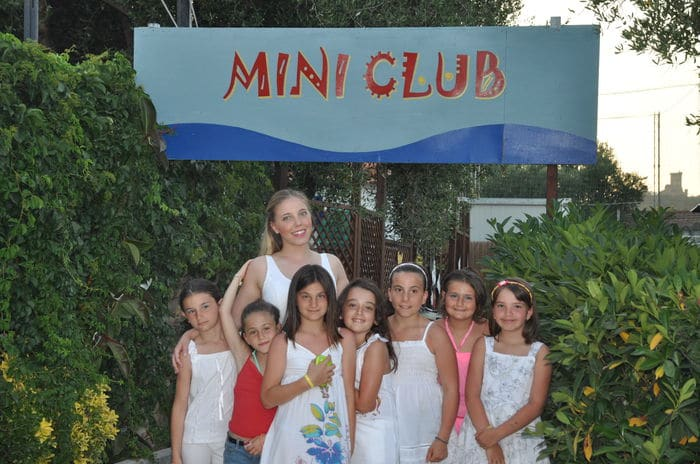 Elea Club, villaggio per bambini in Cilento, mini club