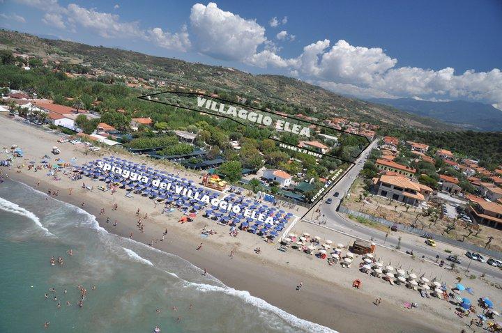 Elea Club, villaggio per bambini in Cilento, spiaggia