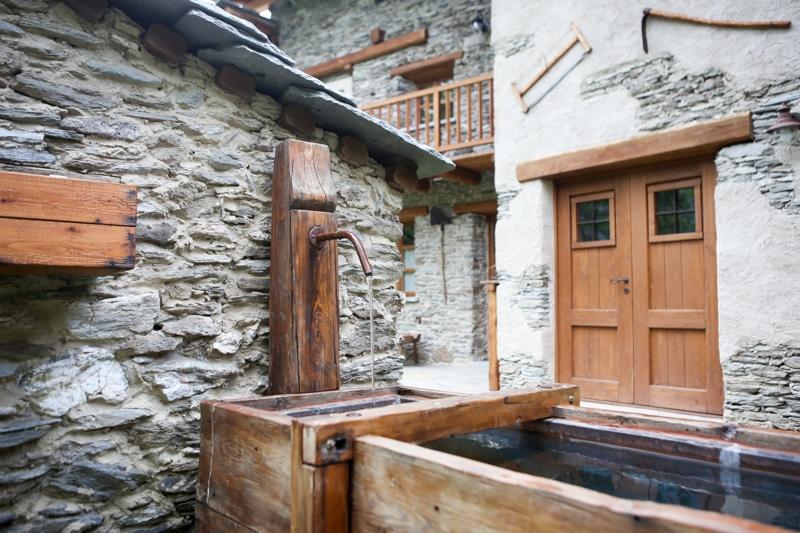 Baite in Piemonte per vacanze: Borgata Sagna Rotonda, dettaglio