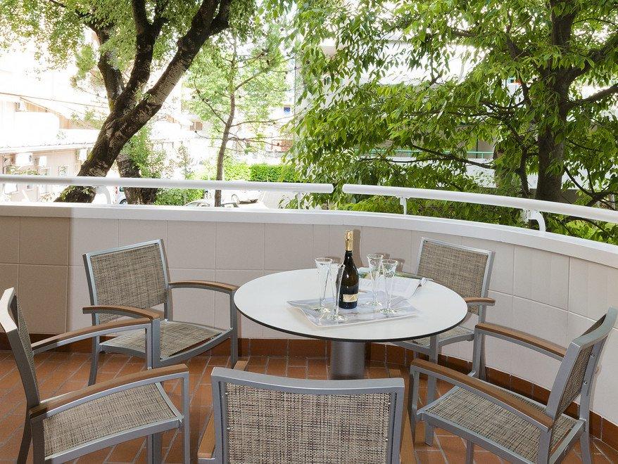 Residence a Bibione per bambini: Serenissima Residence, terrazzo