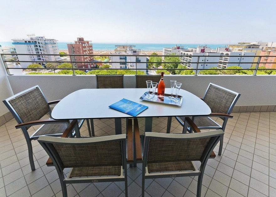 Residence a Bibione per bambini: Serenissima Residence, vista mare