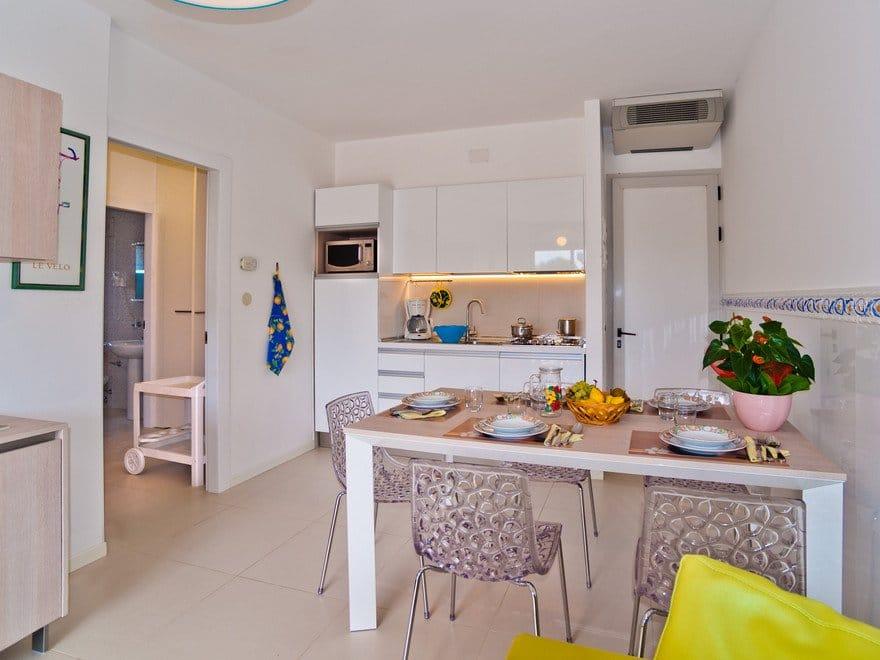 Residence a Bibione per bambini: Serenissima Residence, sala