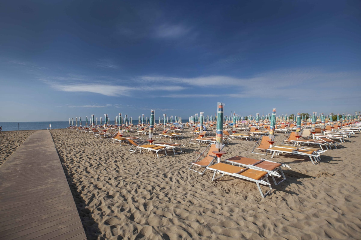 Residence a Bibione per bambini: Serenissima Residence, spiaggia