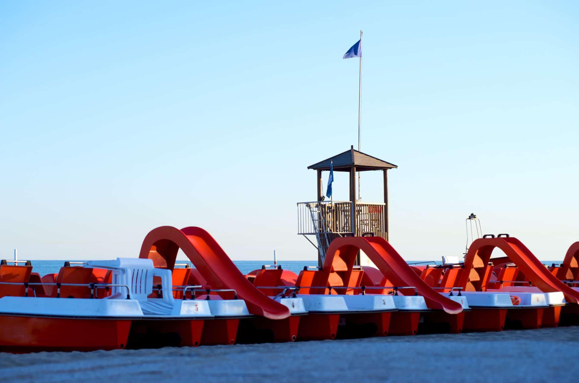 Campeggi a Venezia Europa Village Camping, il mare