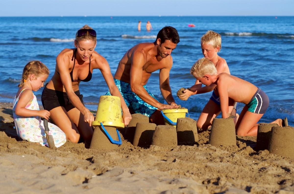 Campeggi a Venezia Europa Village Camping, in spiaggia