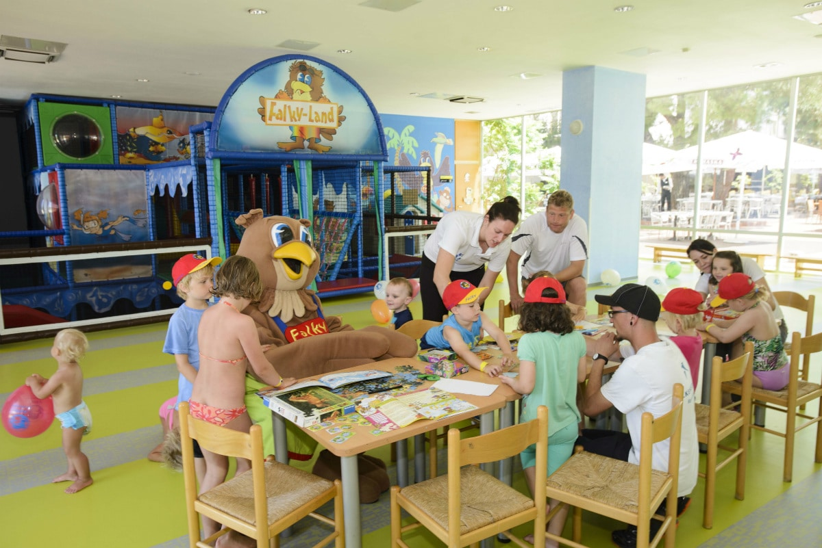 Resort per famiglie Croazia: Club Funmation Borik a Zara, falky land