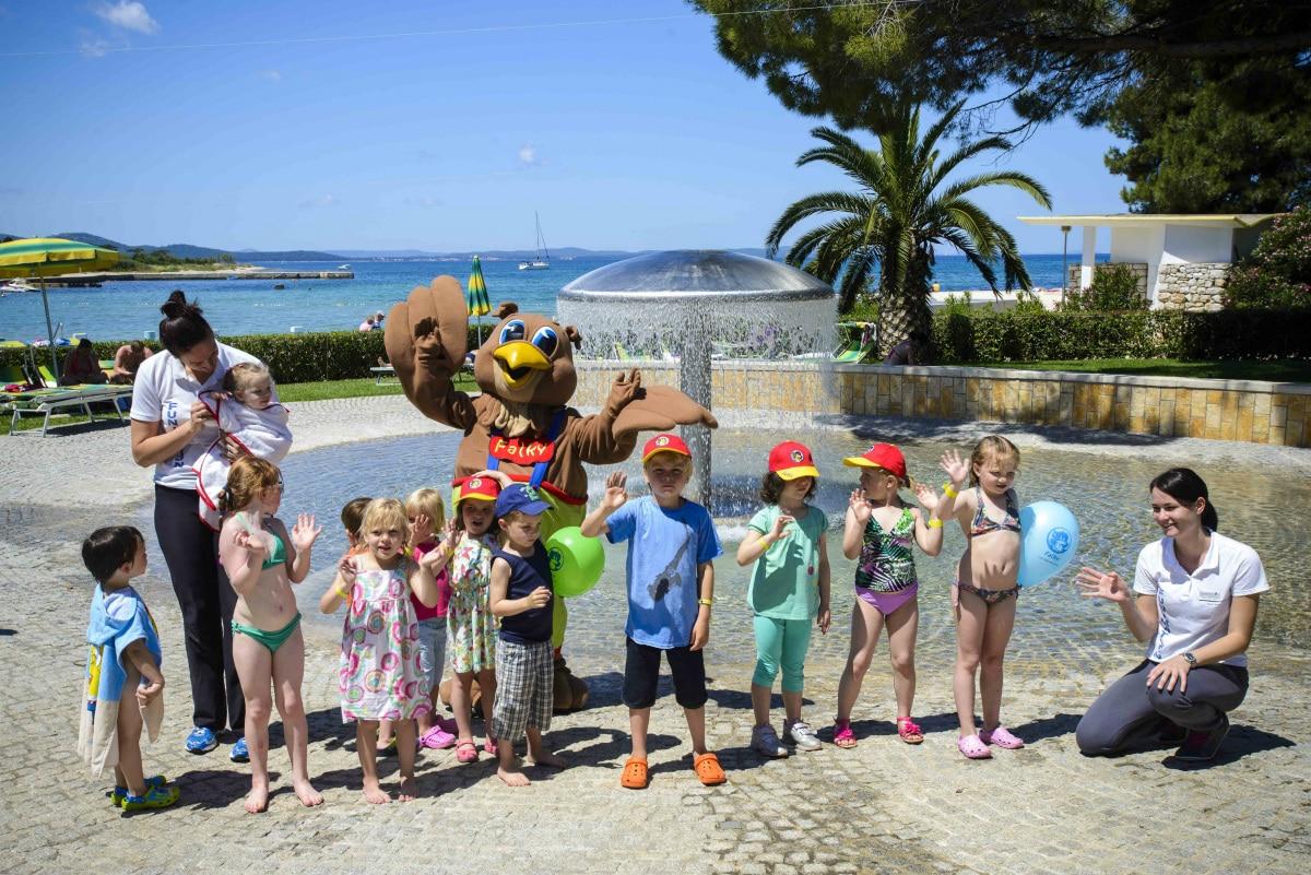 Resort per famiglie Croazia: Club Funmation Borik a Zara, miniclub