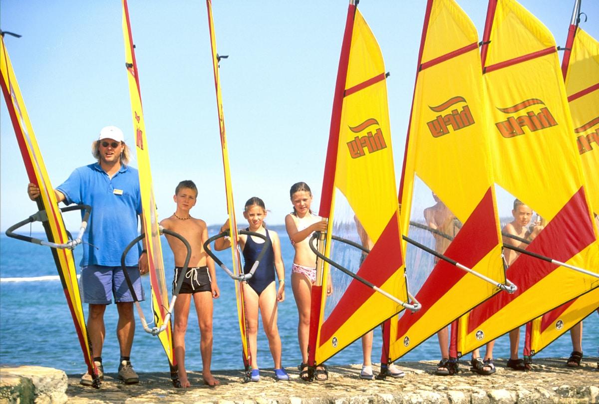 Resort per famiglie Croazia: Club Funmation Borik a Zara, scuola di vela