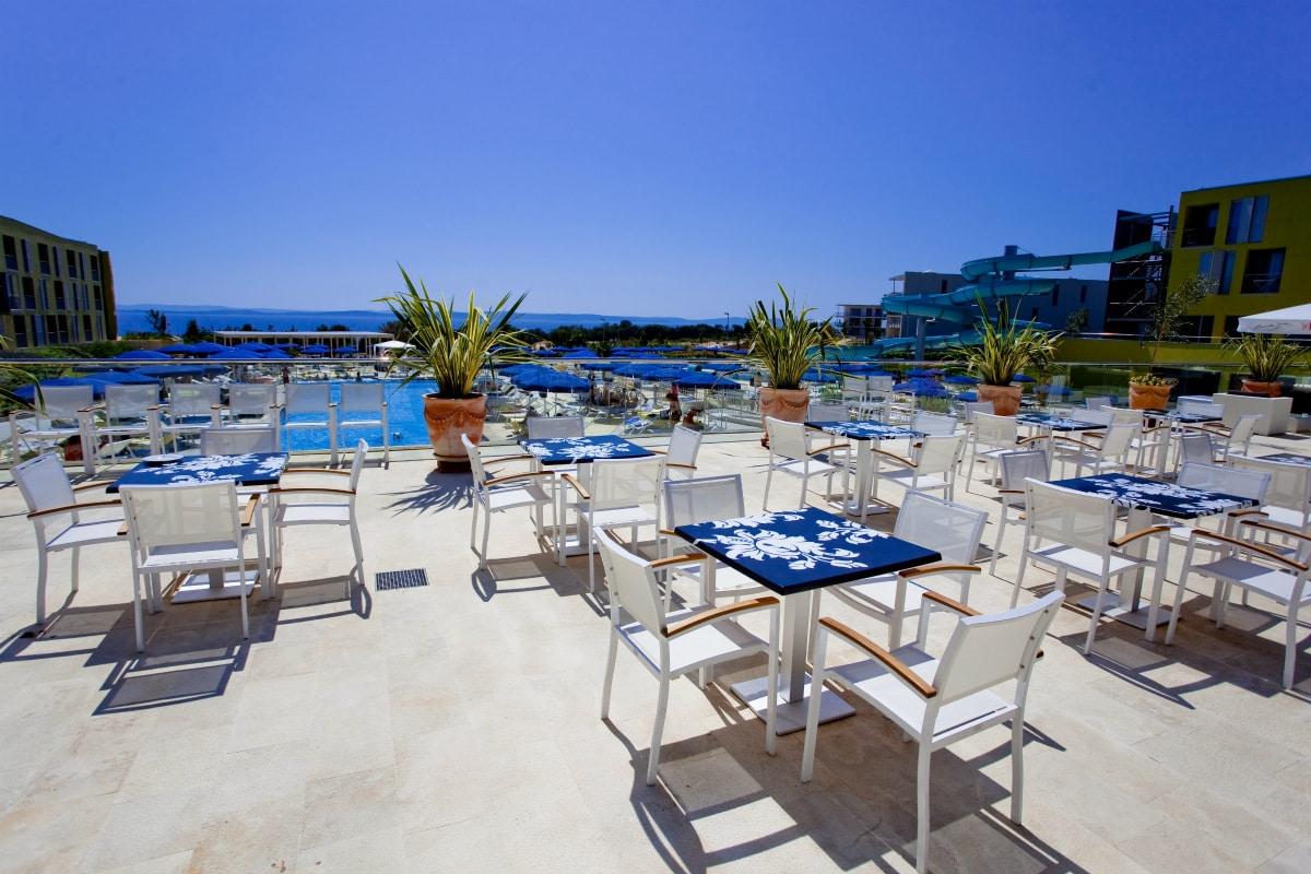 Family Hotel Dalmazia: Family Hotel Diadora a Zara, terrazza