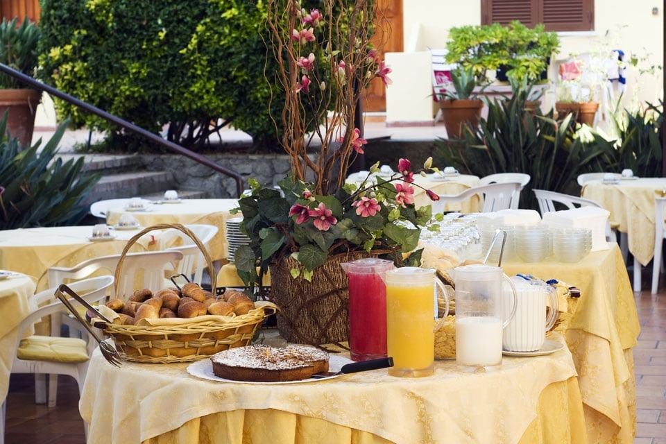 Hotel per bambini a Ischia: Family Hotel & Spa Le Canne, colazione