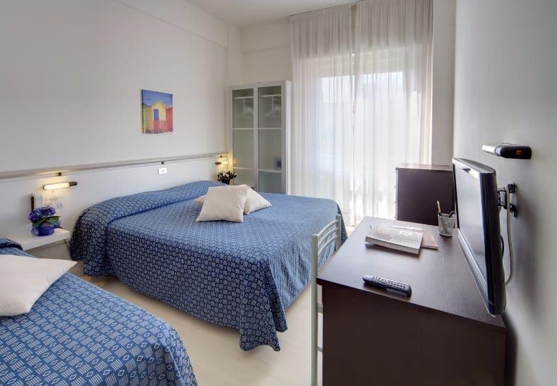 Hotel nelle Marche per famiglie Hotel San Marco, camera