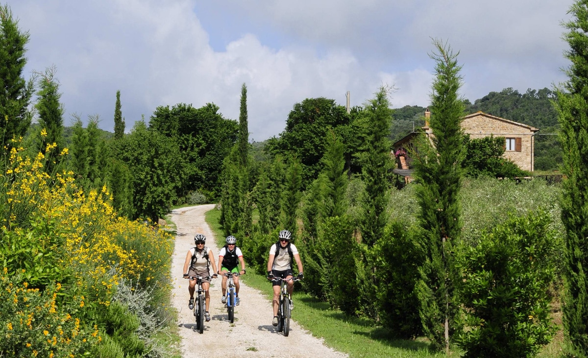 Agriturismo per famiglie in Maremma, Tenuta Il Cicalino, bici