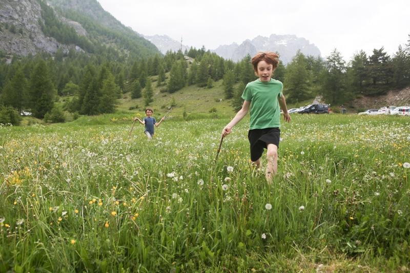 Baite in Piemonte per vacanze: Borgata Sagna Rotonda, in estate