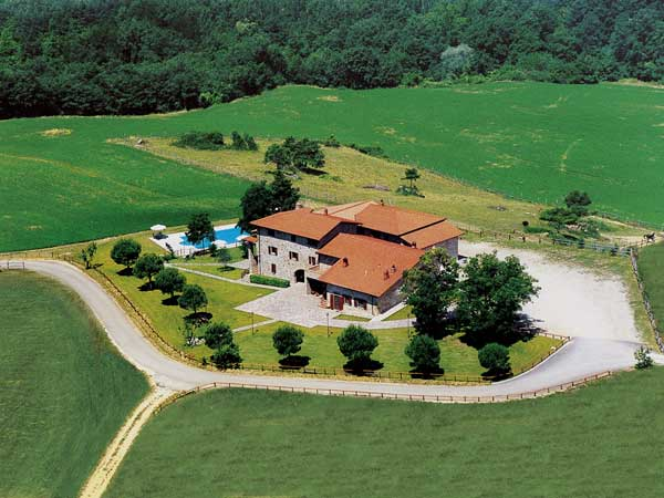 Agriturismo per bambini Arezzo - La Collina delle Stelle, aerea