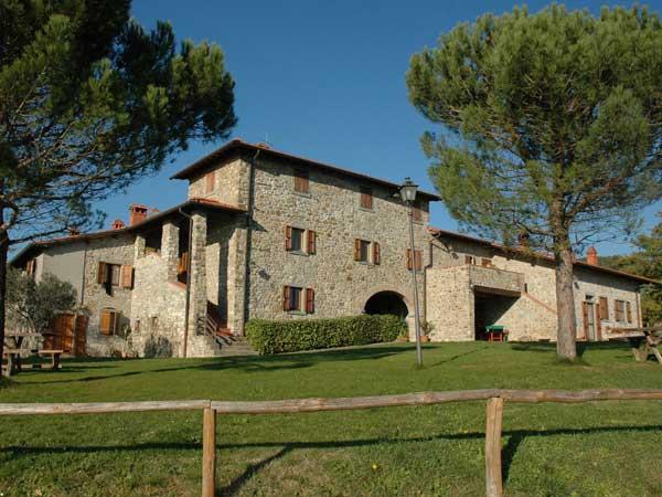 Agriturismo per bambini Arezzo - La Collina delle Stelle, casale