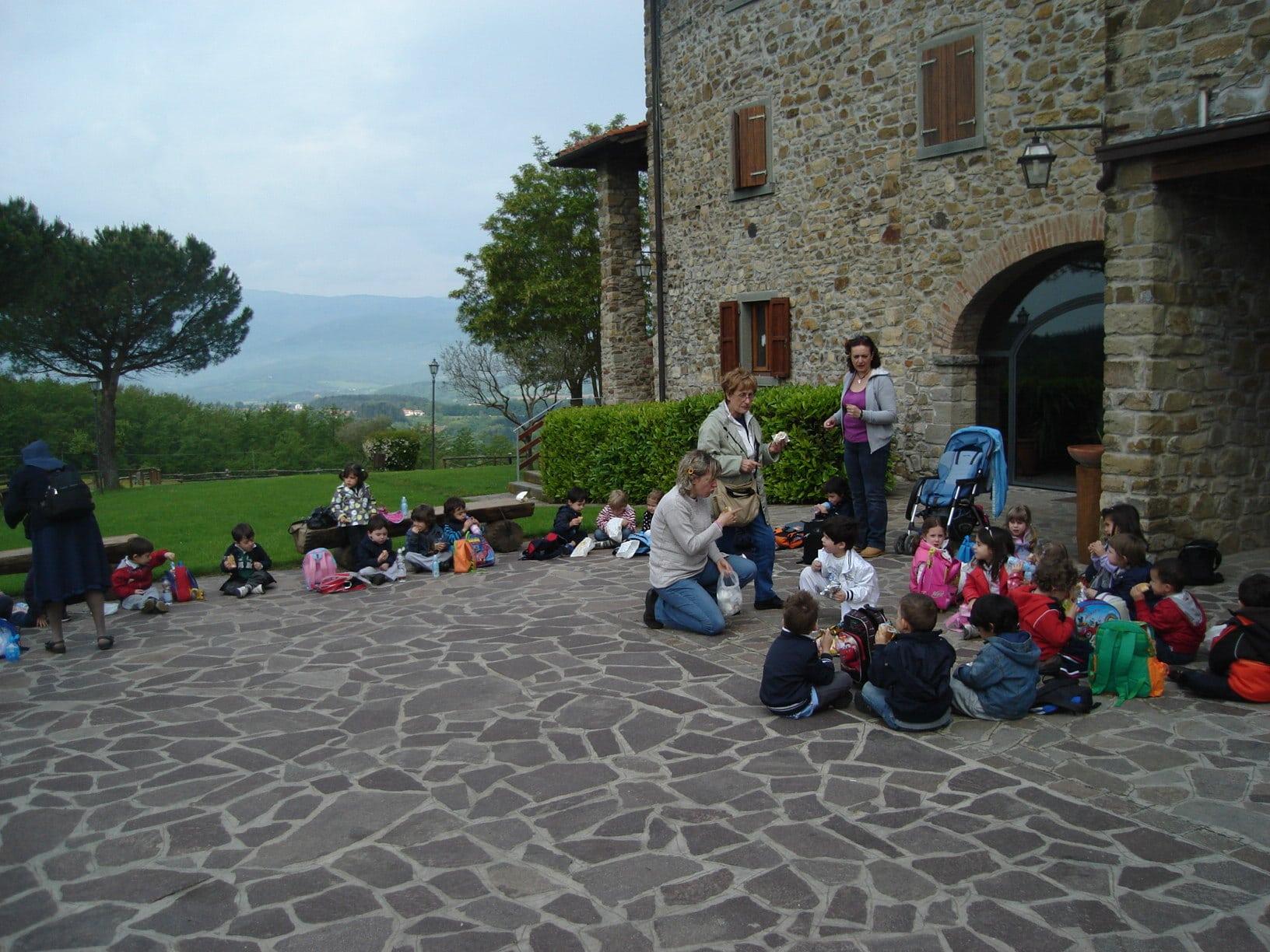 Agriturismo per bambini Arezzo - La Collina delle Stelle, bambini