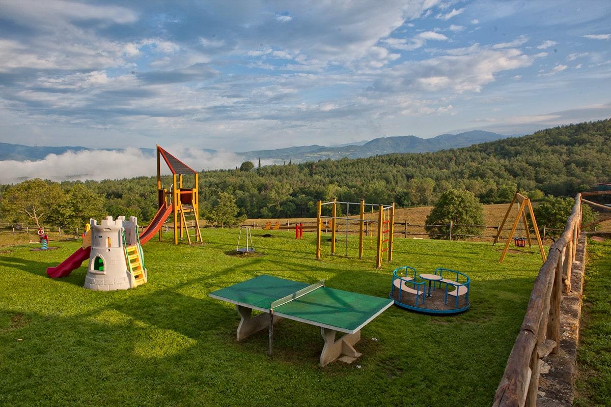 Agriturismo per bambini Arezzo - La Collina delle Stelle, giochi
